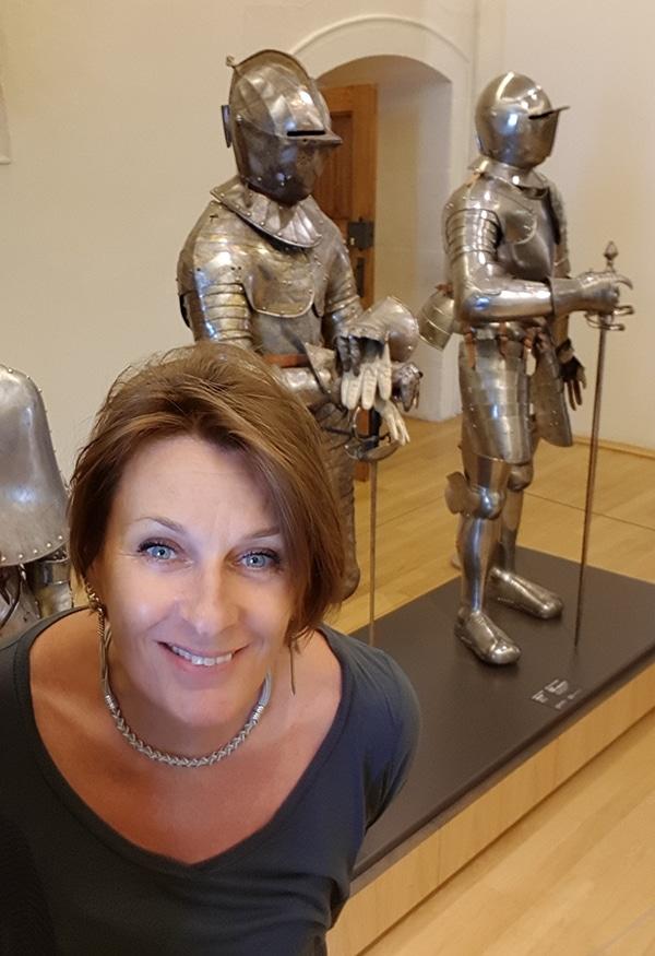 Valérie Szczupal armures du moyen-âge