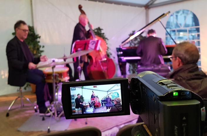 Tournage vidéo d'un concert à Grenoble