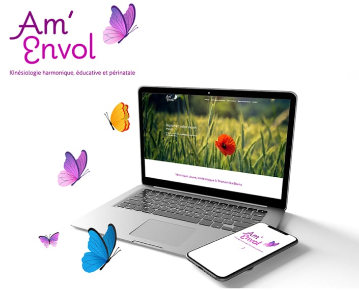 Travail de graphisme global logo + site responsive