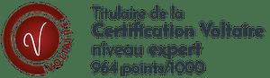 Certification Voltaire pour Typographic correcteur professionnel