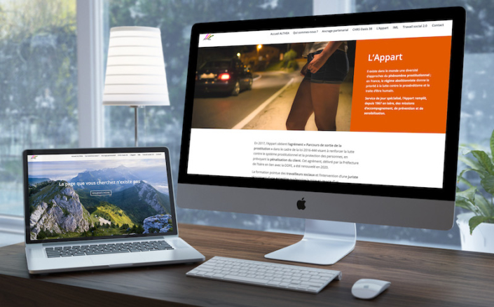 Page de site web et page d'erreur 404