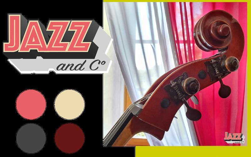 Conception graphique - Logo et couleurs associées - Mini moodboard
